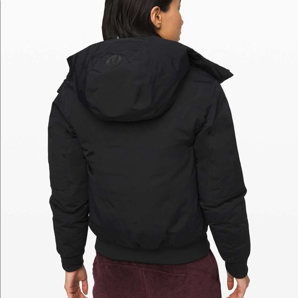 lululemon athletica Jackets & Blazers - Lululemon Winter Warrior Bomber | 10